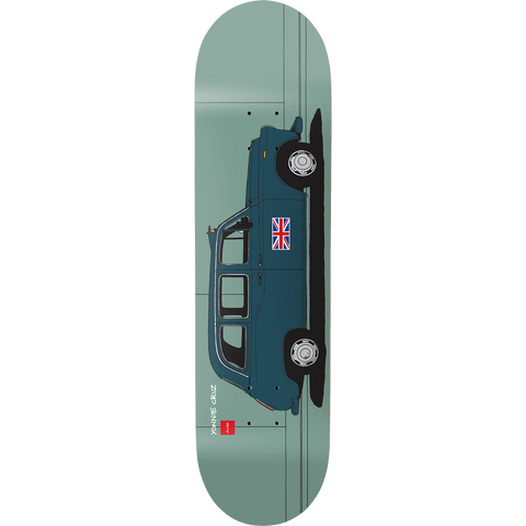 Chocolate Cruz World Taxis 8.12 Deck