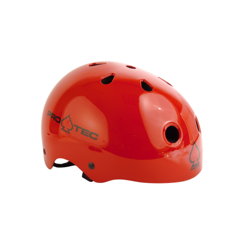 Protec Classic Skate Helmet Gloss Red - Venue Skateboards
