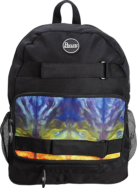 Penny Backpack Rainbow Bridge Blk/Tie-Dye