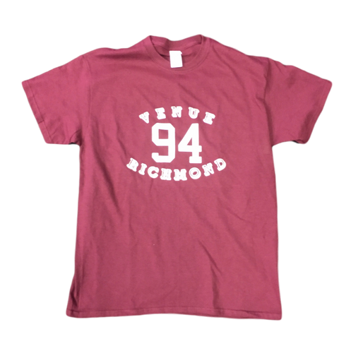 Venue 94 Logo Short  Sleeve T-shirt Maroon