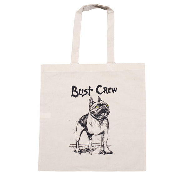 Bust Crew Dog Tote