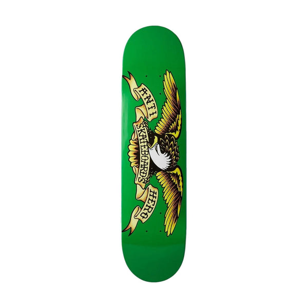 Anti Hero Classic Eagle Deck Light Green 7.8