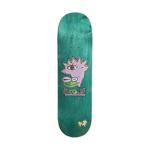 "Frog Painted Logo Deck 8.5""- Venue Skateboards"