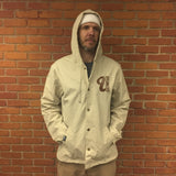 Venue Hooded Coaches Jacket - Khaki