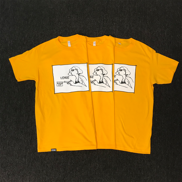 Venue x Gonz Yellow T Shirt