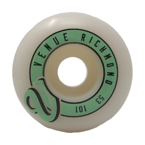 Venue 53mm V Logo Wheels - Venue Skateboards
