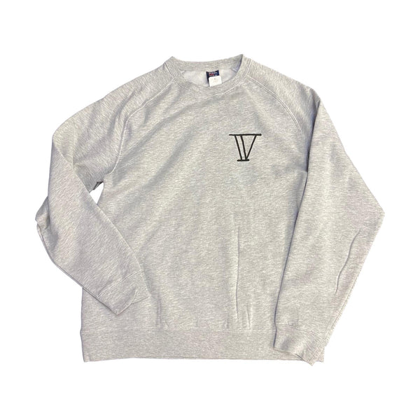 Venue Goat Crew Neck Sweatshirt - Grey Front