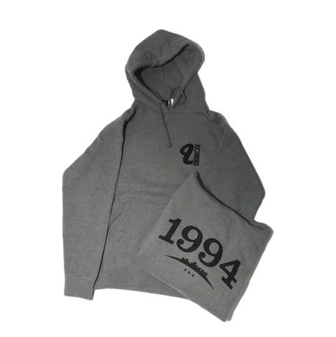 Venue Heavy Hooded Sweatshirt Grey