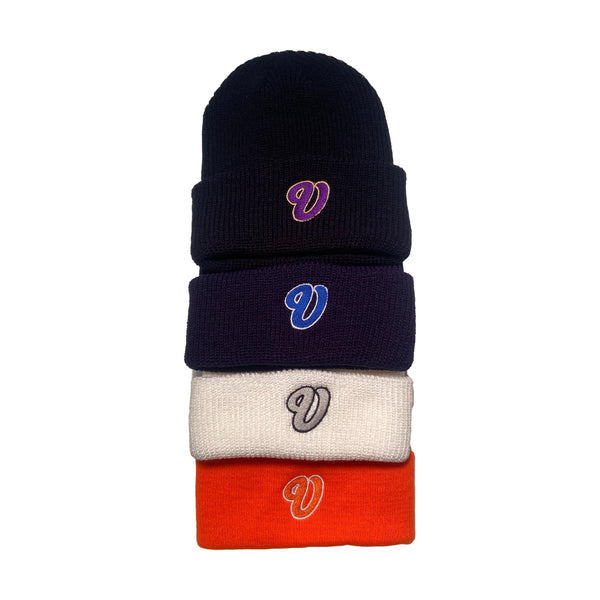Venue Embroidered Beanies - Venue Skateboards