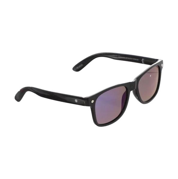 Glassy Leonard Polarized Mirror Black/Blue