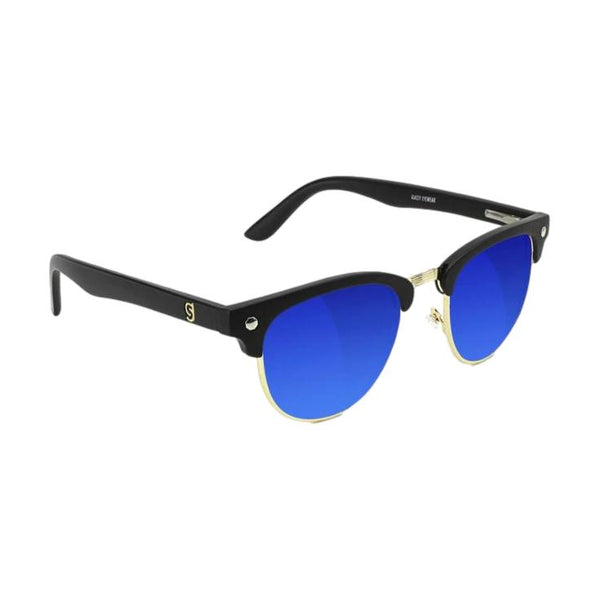 Glassy Morrison Polarized Mirror Black/Blue