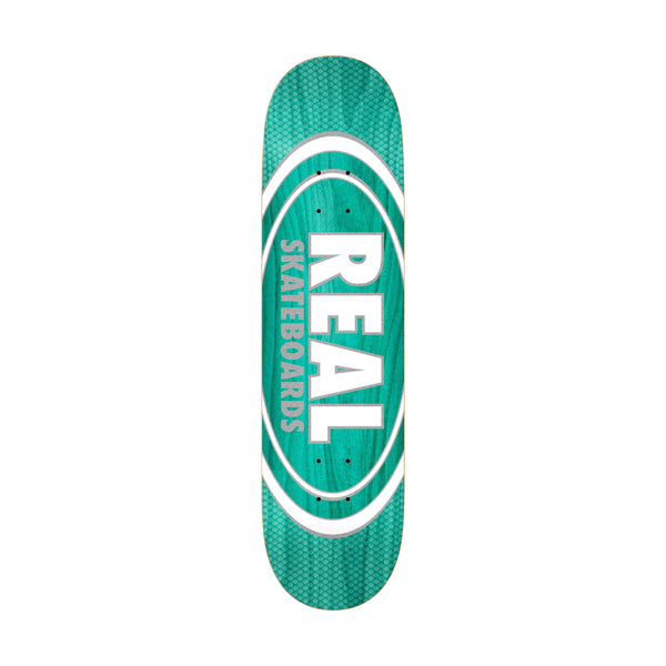 Real Oval Pearl Patterns Deck 8.75