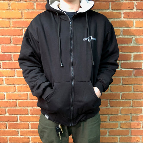 Venue Skateboards Sherpa Lined Zip Hood