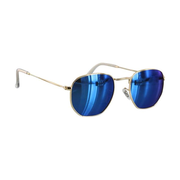 Glassy Turner Polarized Mirror Blue/Gold