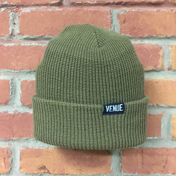 Venue Beanie - Forest Green