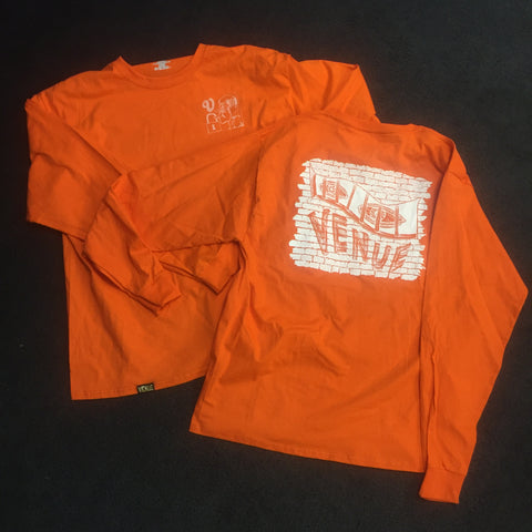 Venue Eyes Long Sleeve T-Shirt Orange