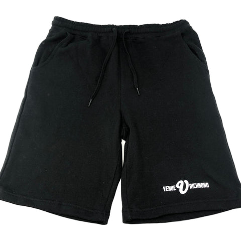 Venue Skateboards Fleece Shorts - Black