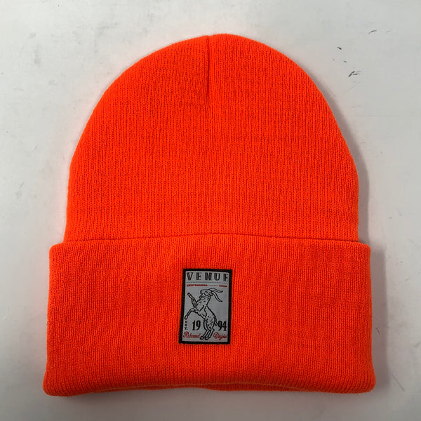 Venue Goat Beanie Orange