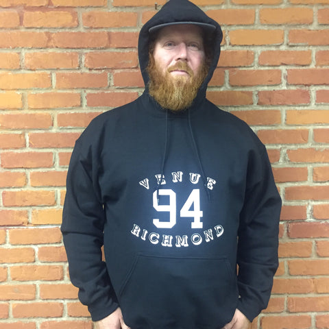 Venue 94 Hooded Sweatshirt - Black
