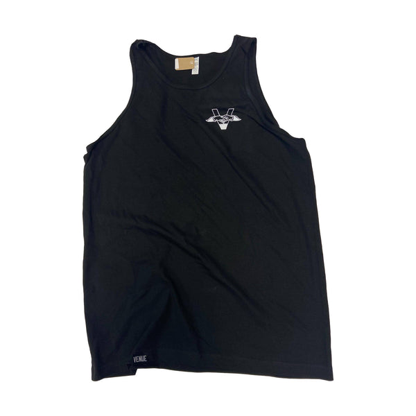 Venue Tank Top Hands Logo Black