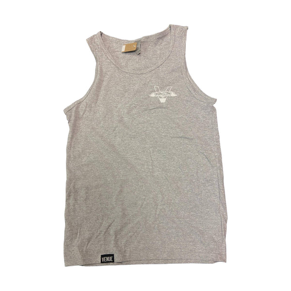 Venue Tank Top Hands Logo Grey