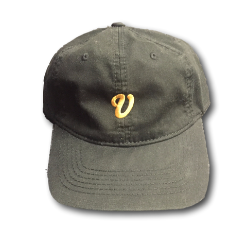 Venue Unstructured Hat - Black - Venue Skateboards