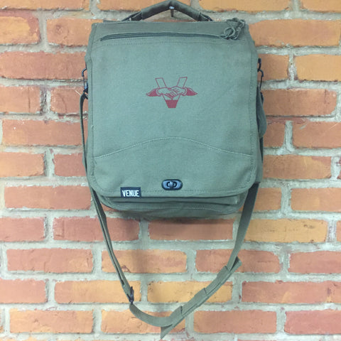 Venue Canvas Engineer Field Bag - Olive Drab