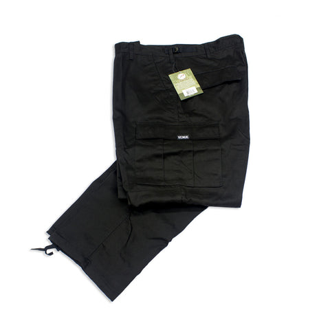 Venue Skateboards Cargo Pants - Black - Venue Skateboards