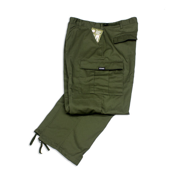 Venue Skateboards Cargo Pants - Olive Drab - Venue Skateboards