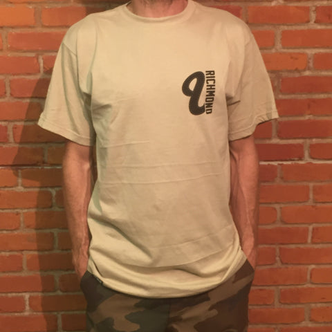 Venue Richmond Short Sleeve T - Cream - Venue Skateboards