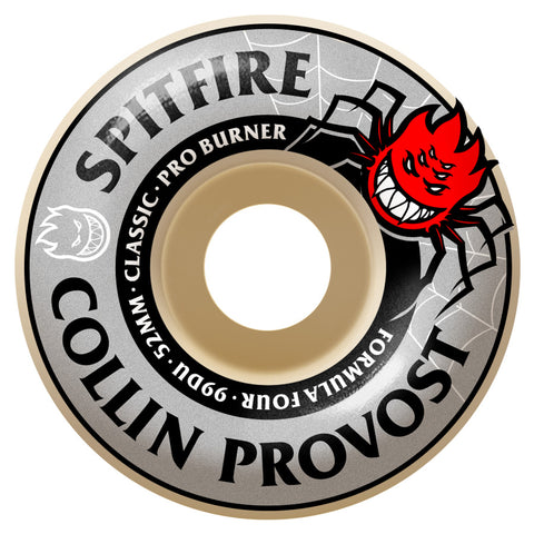 Spitfire Formula 4 Collin Provost 53 mm Classic - Venue Skateboards