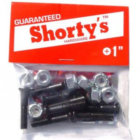 "Shorty's 1"" Hardware - Venue Skateboards"