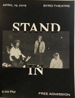 STAND IN DVD
