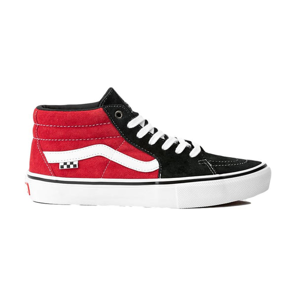 Vans Skate Mid Grosso Black Red