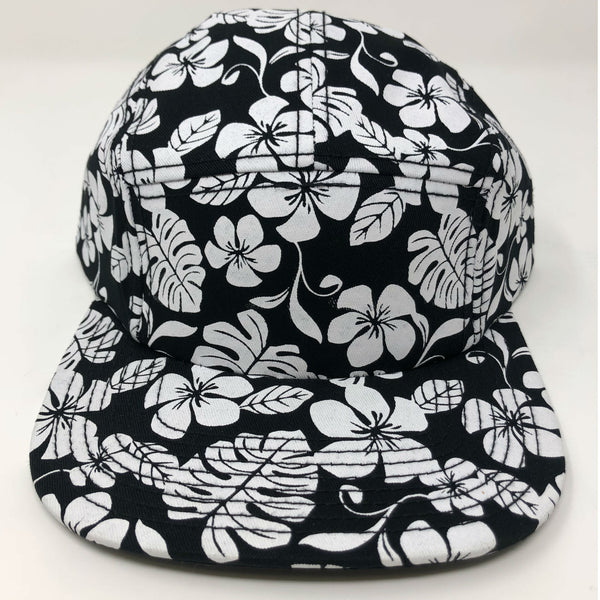Venue 5 Panel Camper Hat - Hawaiian Print