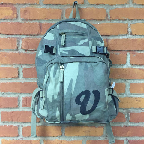 Venue Canvas Backpack Camo - Venue Skateboards