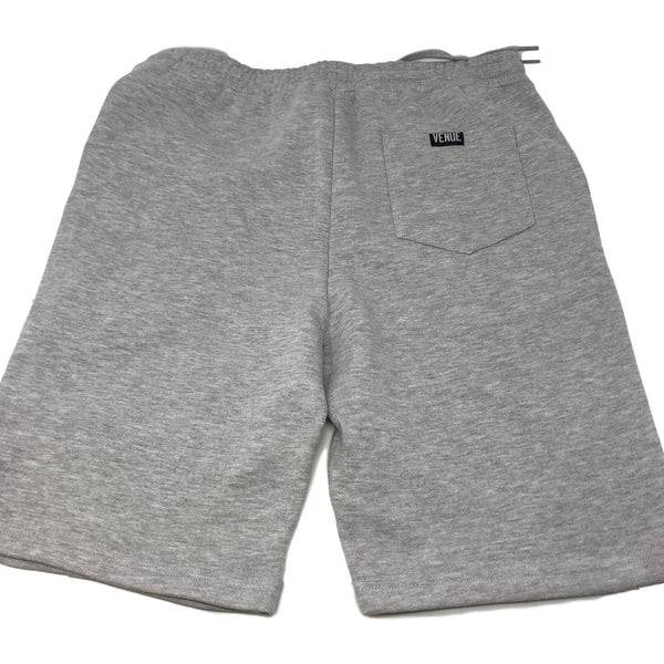 Venue Skateboards Fleece Shorts - Heather Grey