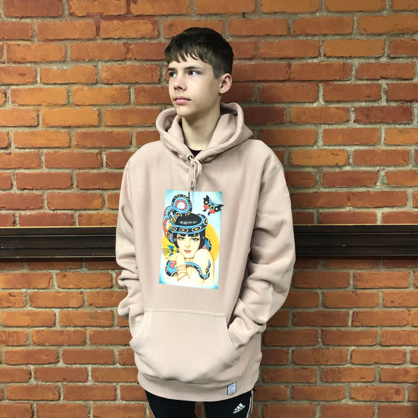 Venue Premium Hooded Sweatshirt Pink