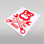 DEADLY Wrench Sticker - Large 29cm