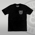 DEAD BEAR SOCIETY Black T-shirt (With Back Print) front print