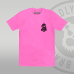 Dead Unicorn Club T-shirt Pink (With Back Print) front
