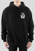Deadly Brand Bunny Rabbit Pull Over Hoodie Front Print