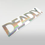 DEADLY Windscreen Sticker - Large 55cm