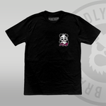 DEADLY. PANDA T-shirt (With Back Print) left chest print deadly brand