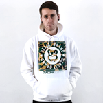Deadly Brand Camo White Pullover Hoodie