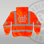 Deadly Industries Hi-Vis Orange Back print