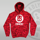 Deadly Camo Pullover Hoodie - Various Colours