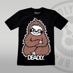 Deadly Sloth Black T-shirt