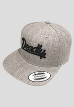 Deadly. Snapback Cap Heather Grey