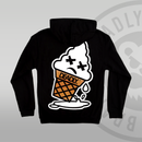 DEADLY. DEAD ICE SCREAM Pullover Hoodie back print